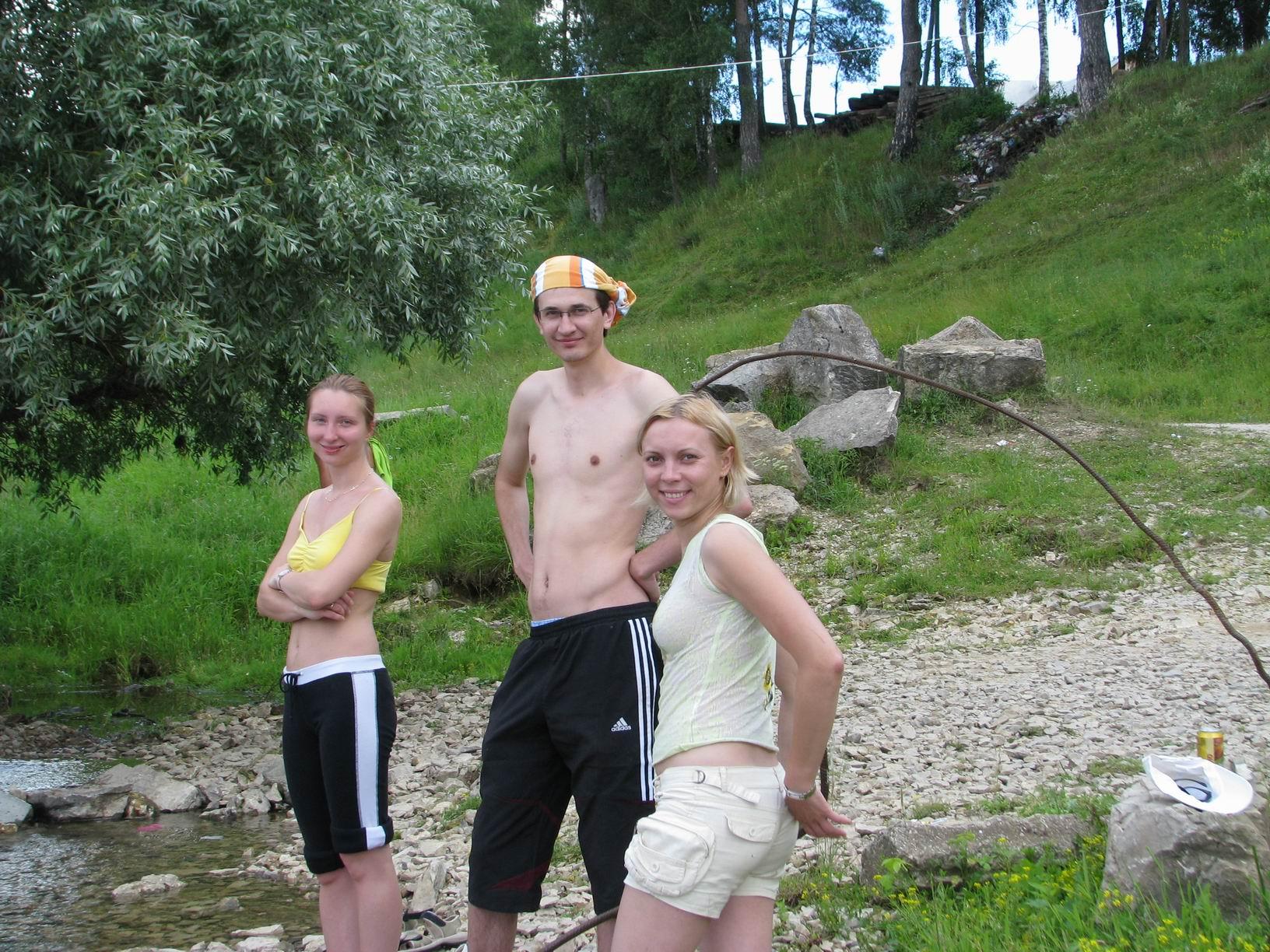 Три туриста - три товарища