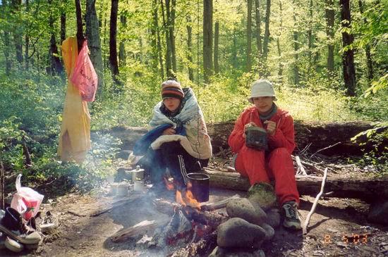 Утренняя трапеза коренных Тупляндцев