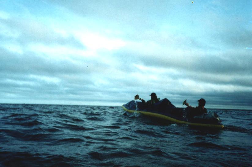 Начало шторма на море